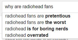 radiohead fans