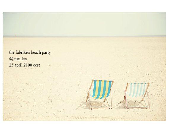 fabriken beach party