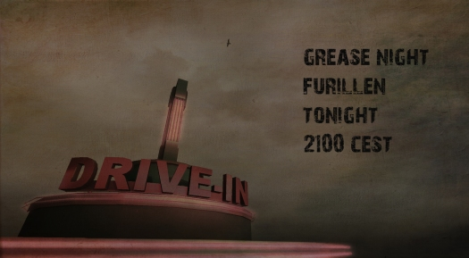grease night poster