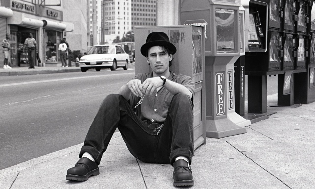 Jeff Buckley in Atlanta, in August 1994