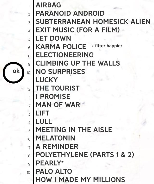 oknotok track list