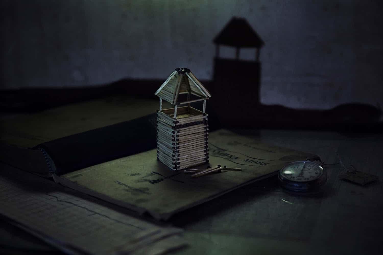 matchstick house