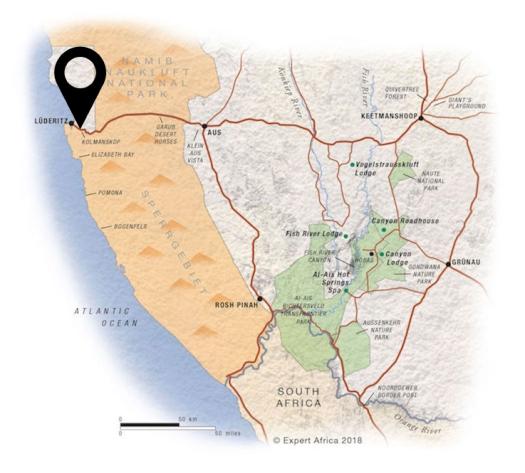 kolmanskop map A